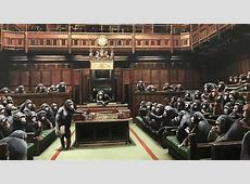Banksy?s ?Devolved Parliament? Painting Could Become His