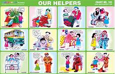 Our Helpers Chart Spectrum Educational Charts Chart 183 Our Helpers
