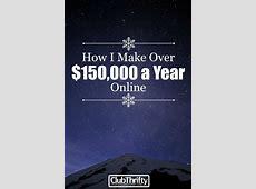 How I Earn a Living Online   Make more money, Make money