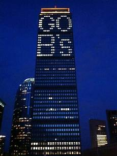 Prudential Center Lights Boston Inspires Prudential Center Lights Up Go B S