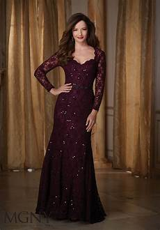 sophisticated beaded lace evening dress style 71430