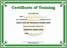 Social Service Certificate Format 11 Free Sample Training Certificate Templates Printable