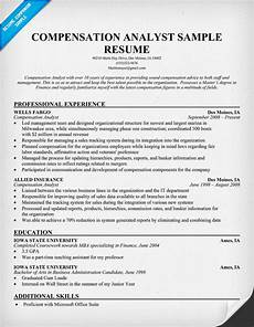 Compensation Analyst Resumes Compensation Analyst Driverlayer Search Engine