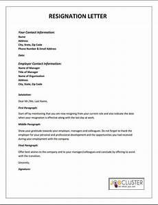 How To Do A Resignation Letter Resignation Letter Template Jpg Resignation Letter
