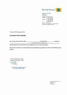 How To Format Letters Letter Format For Bank Account Opening Reference Sample