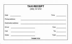 Sample Cab Receipt Free 12 Taxi Receipt Templates In Pdf Google Docs