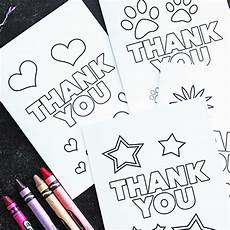 Thank You Cards To Print Free Free Printable Thank You Cards For Kids To Color Amp Send