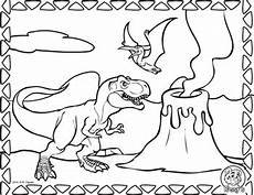 dinosaurs coloring page tyrannosaurus rex by rossy s