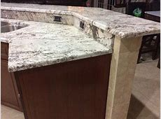 White Springs Granite Countertops Installation Kitchen