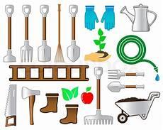 Garten Und Landschaftsbau Werkzeug set bunte werkzeuge f 252 r garten landschaftsbau
