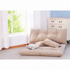 Floor Sofa Bed 3d Image by Merax Fabric Foldable Floor Sofa Bed Adjustable Futon With