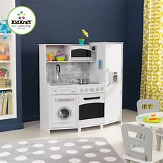 Kidkraft Large Play Kitchen With Lights And Sounds White Playset Kidkraft Large Play Kitchen With Lights And Sounds