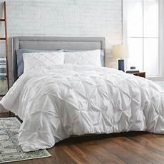 better homes gardens white pintuck 3 comforter set