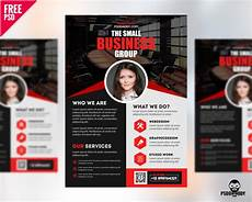 Business Advertisement Template Free Professional Business Flyer Psd Freebie Psddaddy Com