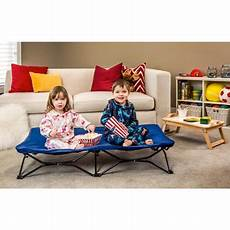 regalo my cot portable toddler bed royal blue includes