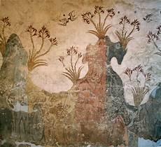 bronze age at santorini greece image free stock