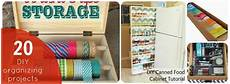 great ideas 20 diy organizing projects