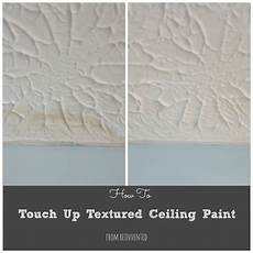 Light Textured Ceiling Paint How To Touch Up Textured Ceiling Paint Textured Ceiling
