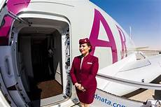 qatar cabin crew business class qatar airways im test uraubsguru