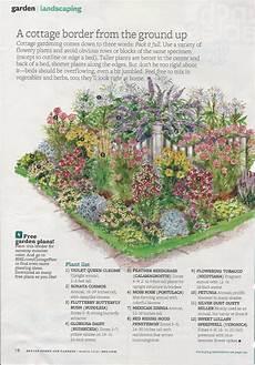 englischer garten plan cottage garden planting guide from bhg home design