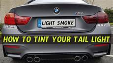How To Tint Mustang Lights How To Tint Taillights With Smoked Vinyl Youtube
