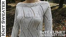 knit a sweater s sleeve sweater knitting