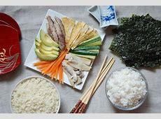 Easy Grain free Sushi   Temaki made with Cauliflower Rice