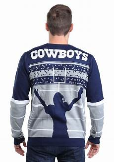 Dallas Cowboys Light Up Dallas Cowboys Stadium Light Up Ugly X Mas Sweater
