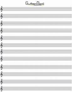 Music Staff Sheet Printable Blank Music Staff Paper Music Paper Printables
