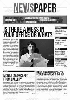 Office Newspaper Template 35 Best Newspaper Templates In Indesign And Psd Formats