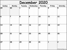 Free December 2020 Calendar December 2020 Calendar Free Printable Monthly Calendars