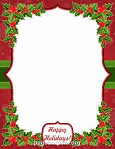 Microsoft Christmas Borders Happy Holidays Border Clip Art Page Border And Vector