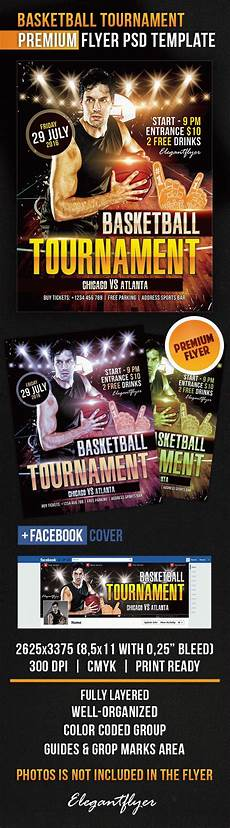 Basketball Tournament Program Template Basketball Tournament Flyer Psd Template By Elegantflyer
