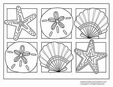 Printable Pictures Of Seashells Seashells Coloring Pages Coloring Home
