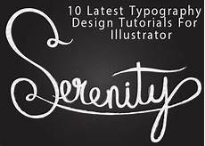 Illustrator Typography Tutorials 10 Latest Awesome Typography Design Tutorials For