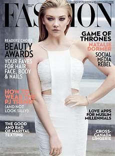 A Magazine Fashion Magazine February 2016 Cover Natalie Dormer