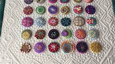wool confetti embroidery projects by charisma