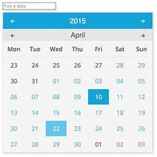 Angular Material Design Datepicker Datepicker Material Design Angular Kabytes
