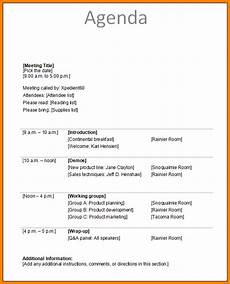 Agenda Of Meeting Sample Format 1 Meeting Agenda Sample Card Authorization 2017