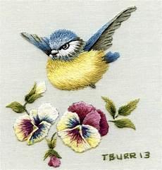 embroidery bird needle painting embroidery birds design studio