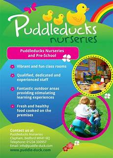 Advertisement Leaflets Nursery School Flyer Design Examples Of Some Of The