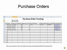 Purchase Order Spreadsheet Introto Excel