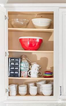 kitchen cabinets organization ideas organization ideas for a kitchen cabinet overhaul kelley nan