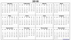 Yearly Calendar Template Word 2018 Yearly Calendar Printable Templates Of Word Excel