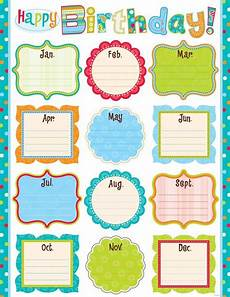School Birthday Calendar Birthday Calendar Template For Office Birthdaycalendar