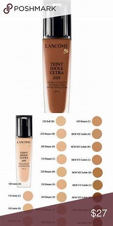Lancome 24 Hour Foundation Color Chart Lanc 244 Me Tient Idole Ultra 24h Foundation An Oil Free 24