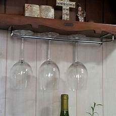 hanging wine glass rack glasses storage