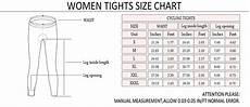 Tights Size Chart Monton 2015 Pro Womens Cycling Tights For Summer Womens