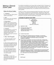 Example Generic Cover Letter Free 7 Sample Generic Cover Letter Templates In Pdf
