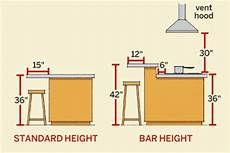 standard kitchen island dimensions kitchen island dimensions time to build